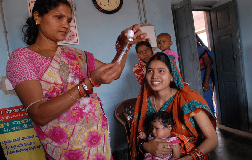 Surveys for a Pilot Study with Community Health Workers to Improve Vaccination in Bihar
